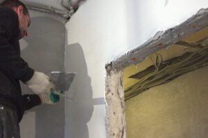 Шпатлевка стен под покраску