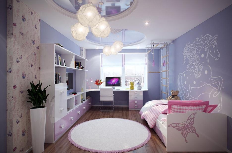 Ремонт в детской комнате в Москве